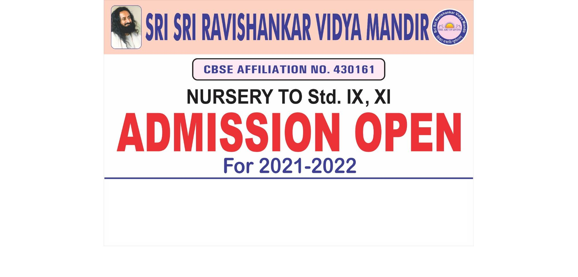 Admissions 2021-22 Banner